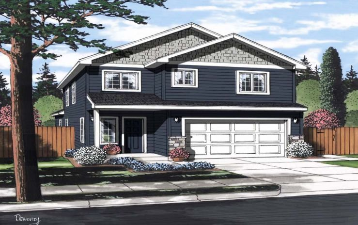 BigSky 2-Story Home Plans Spokane Wa
